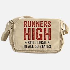 Runner's High. Still Legal. Messenger Bag