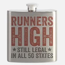 Runner's High. Still Legal. Flask