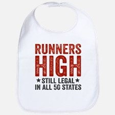 Runner's High. Still Legal. Bib