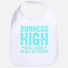Runner's High. Still Legal. Bib