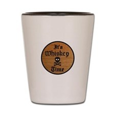 WHISKEY TIME Shot Glass