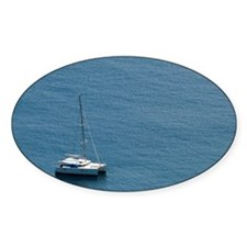 Luxury sailing catamaran Decal
