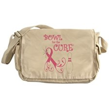 Bowl for the Cure Curly Messenger Bag
