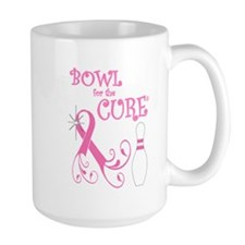Bowl for the Cure Curly Mug