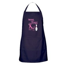 Bowl for the Cure Curly Apron (dark)