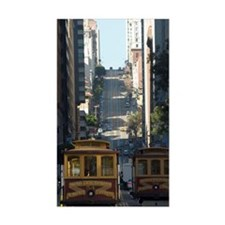 san francisco cable car Decal
