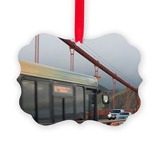 golden gate rush Ornament