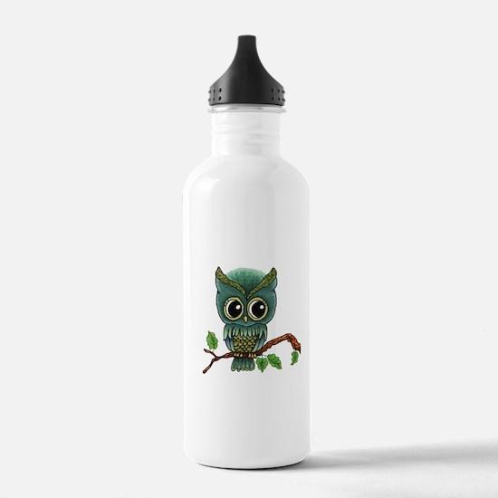 Lifes a Hoot Owl Water Bottle