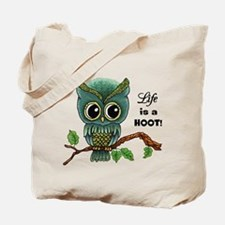 Lifes a Hoot Owl Tote Bag