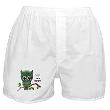 Lifes a Hoot Owl Boxer Shorts
