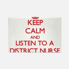 Keep Calm and Listen to a District Nurse Magnets