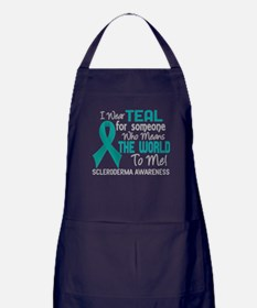 Scleroderma Means World To Me 2 Apron (dark)