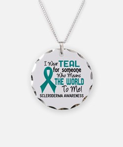Scleroderma Means World To M Necklace