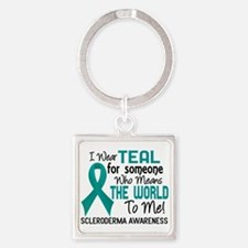 Scleroderma Means World To Me 2 Square Keychain