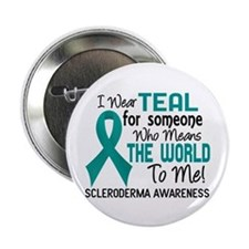 "Scleroderma Means World To Me 2 2.25"" Button"