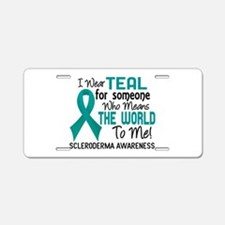 Scleroderma Means World To Aluminum License Plate