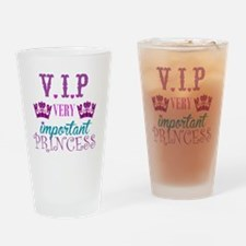 Princess: VIP Drinking Glass