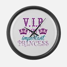 Princess: VIP Large Wall Clock