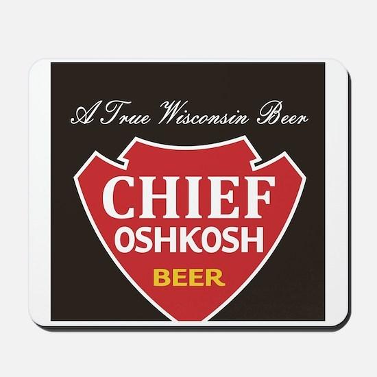 Oshkosh Brewing Company Emblem Mousepad