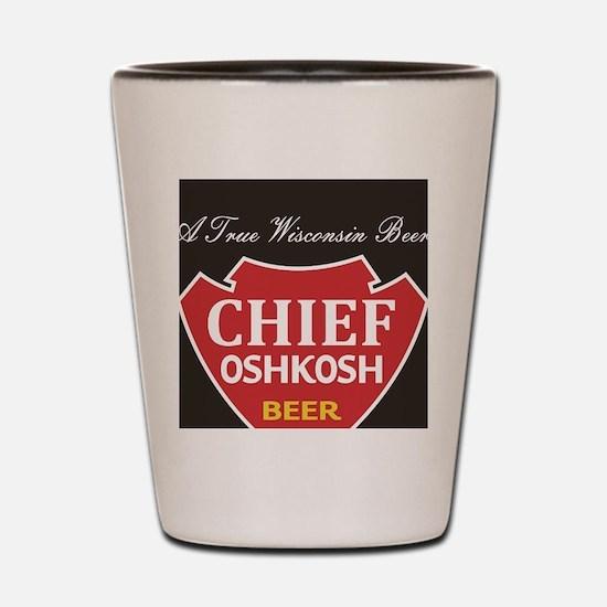 Oshkosh Brewing Company Emblem Shot Glass