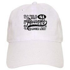 41st Birthday Baseball Cap