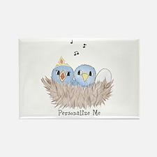 Baby Bird Rectangle Magnet