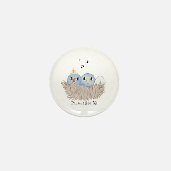 Baby Bird Mini Button (10 pack)