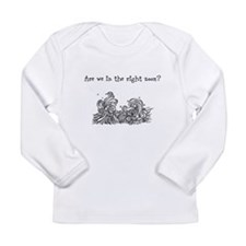 Are we in the right zoom? Long Sleeve T-Shirt