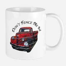 Dont Fence Me In! Mugs