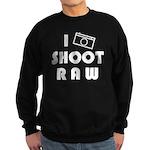 I Shoot Raw Sweatshirt