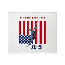 C-17 Globemaster III Throw Blanket