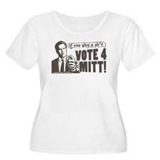 Vote 4 Mitt T-Shirt