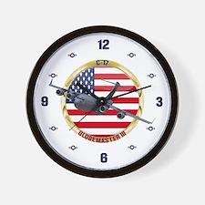 C-17 Globemaster III Wall Clock
