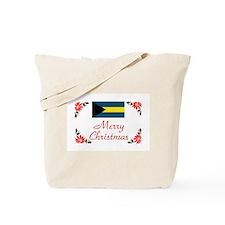 Bahamas-Merry Christmas Tote Bag