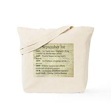 September 1st Tote Bag