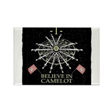 I Believe In Camelot Magnets