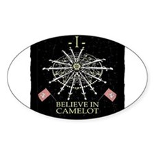 I Believe In Camelot Decal
