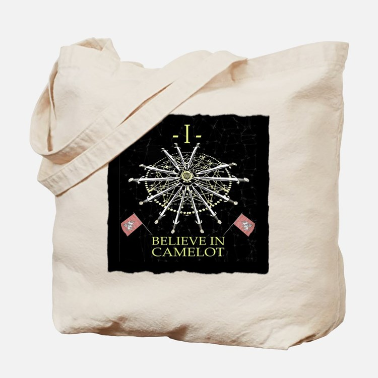 I Believe In Camelot Tote Bag