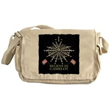 I Believe In Camelot Messenger Bag