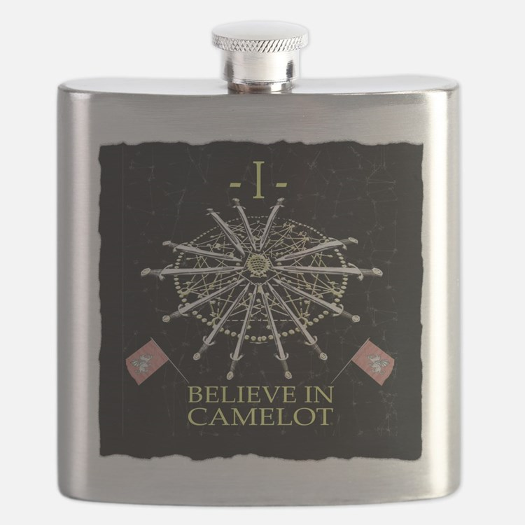 I Believe In Camelot Flask