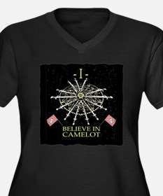 I Believe In Camelot Plus Size T-Shirt