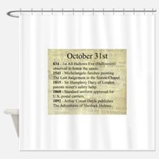 October 31st Shower Curtain