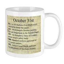 October 31st Mugs