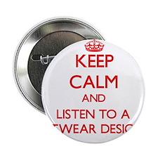 "Keep Calm and Listen to a Knitwear Designer 2.25"""