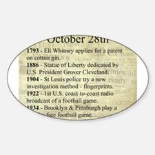 October 28th Decal