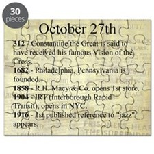 October 27th Puzzle
