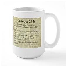 October 27th Mugs