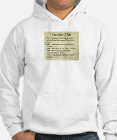 October 27th Hoodie