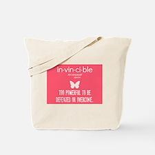 Invincible Tote Bag