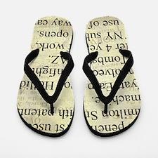 October 26th Flip Flops